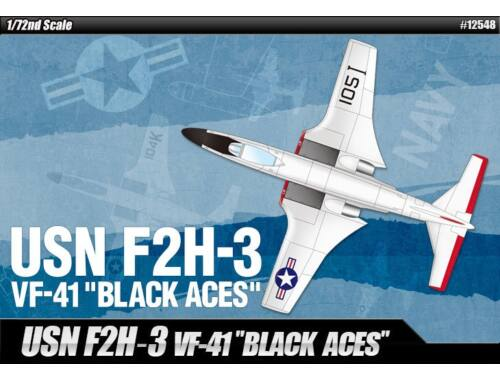 "Academy F2H-3 ""VF-41 Black Aces"" 1:72 (12548)"