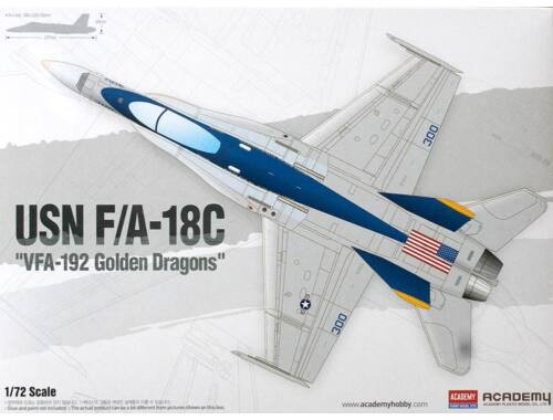 "Academy F/A-18C ""VFA-192 Golden Dragons"" 1:72 (12564)"