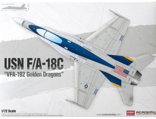 "Academy F/A-18C ""VFA-192 Golden Dragons"" 1:72 (12564)"