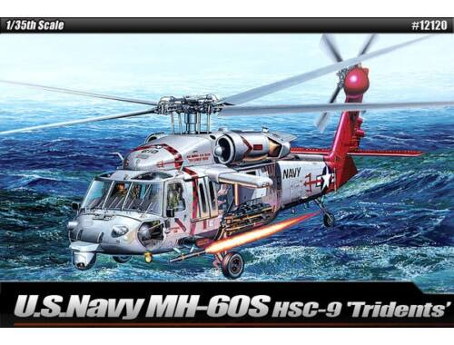 """Academy MH-60S HSC-9 """"Tridents"""" 1:35 (12120)"""