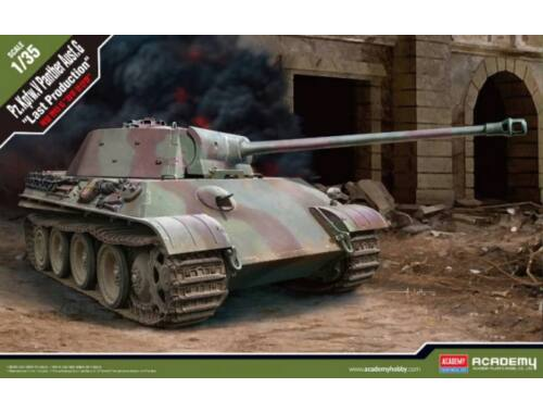 """Academy Pz.Kpfw.V Panther Ausf.G """"Last Production"""" 1:35 (13523)"""