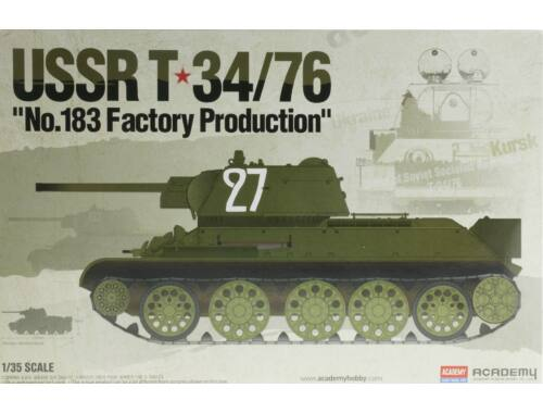 Academy T-34/76 No.183 Factory Prod. 1:35 (13505)