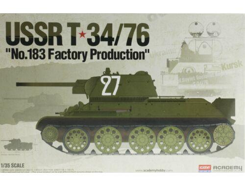 Academy T-34/76 No.183 Factory Prod. 1:35 (13505)