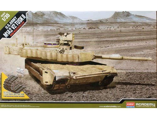 Academy M1A2 V2 Tusk II 1.35 (13504)