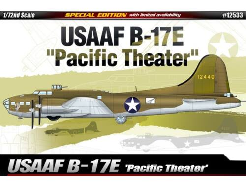 "Academy USAAF B-17E ""Pacific Theater"" 1:72 (12533)"