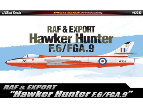 Academy Hawker Hunter F.6/FGA.9 1:48 (12312)