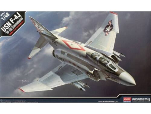 Academy USN F-4J VF-102 Diamondbacks 1:48 (12323)