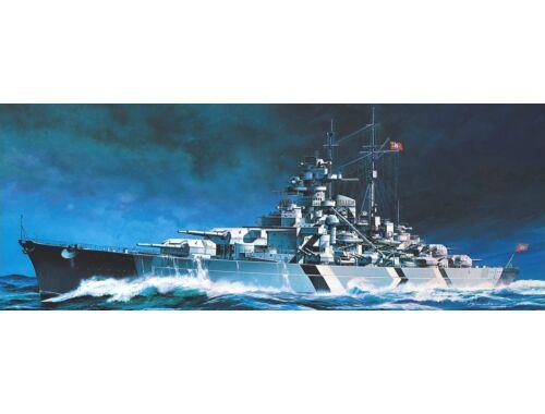 Academy Tirpitz Battleship (Motorized) 1:800 (14219)