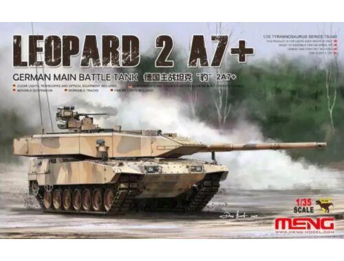 Meng German Main Battle Tank Leopard 2A7+  1:35 (TS-042)
