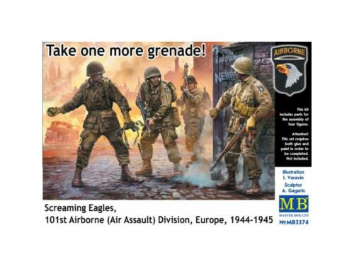Master Box US Paratroopers, Europe, 1944-1945 1:35 (3574)