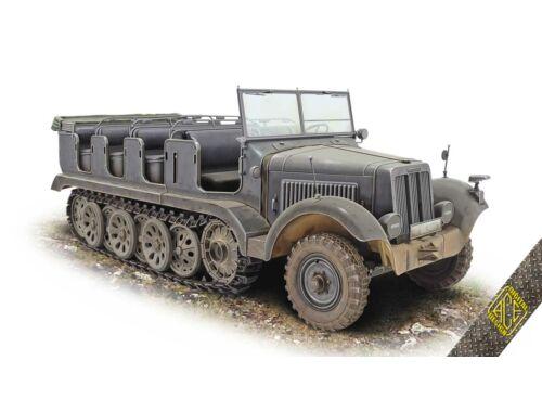 ACE SdKFZ.6 Pionier Zugkraftwagen 5t 1:72 (72567)