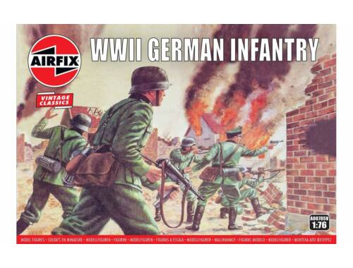 Airfix WWII German Infantry 1:76 (A00705V)