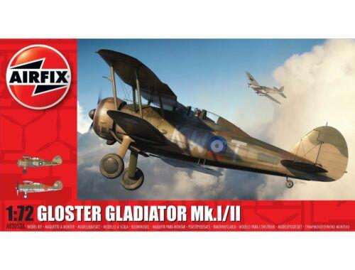 Airfix Gloster Gladiator Mk.I/MK.II 1:72 (A02052A)