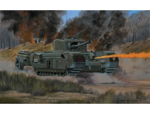 Airfix Churchill Crocodile 1:76 (A02321V)