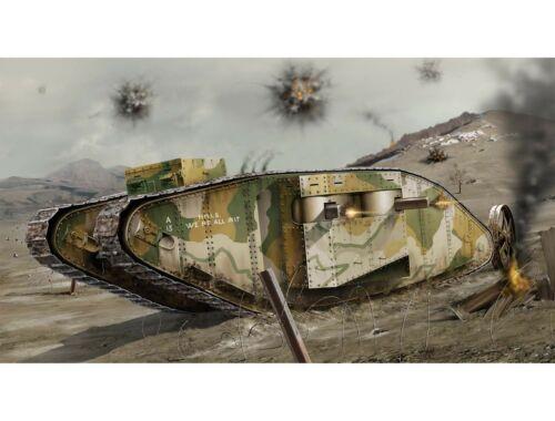 Airfix WWI Female Tank 1:76 (A02337V)