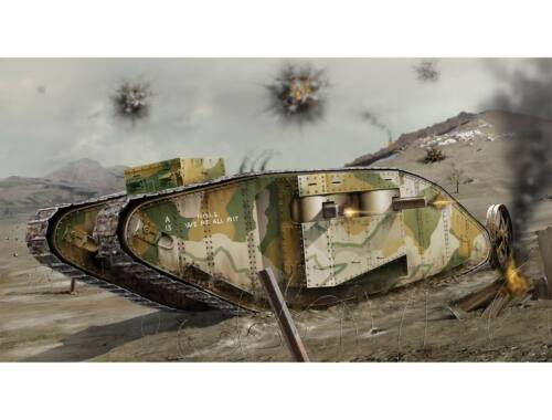 Airfix WWI Female Tank 1:76 (A02337V)