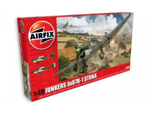 Airfix Junkers Ju87 B-1 Stuka New Schemes 1:48 (A07114A)