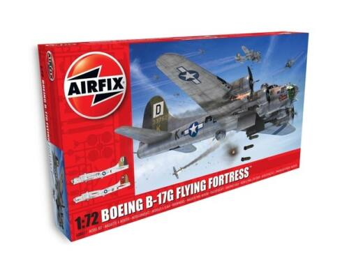 Airfix Boeing B17G Flying Fortress-New Schemes 1:72 (A08017A)