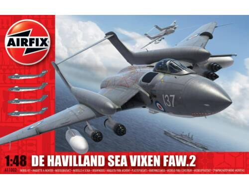 Airfix de Havilland Sea Vixen 1:48 (A11002)