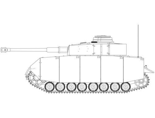 Airfix Panzer IV Ausf.H Mid Version 1:35 (A1351)