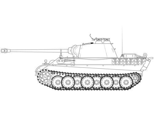 Airfix Panther Ausf G. 1:35 (A1352)