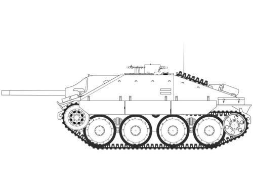 Airfix JagdPanzer 38 tonne Hetzer Late Version 1:35 (A1353)