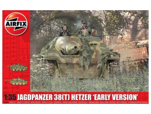 Airfix JagdPanzer 38 tonne HetzerEarly Version 1:35 (A1355)