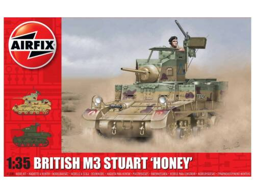 Airfix M3 Stuart Honey (British Version) 1:35 (A1358)