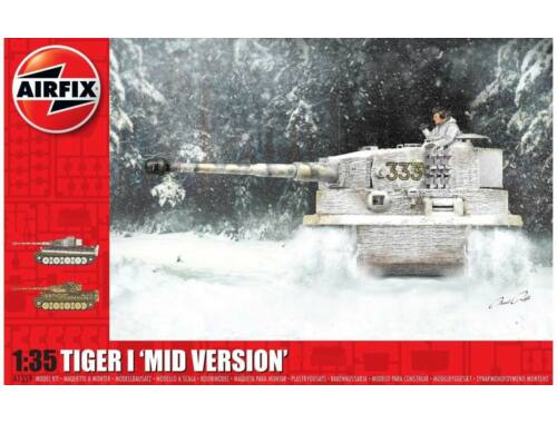 Airfix Tiger 1 Mid Version 1:35 (A1359)