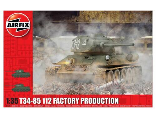 Airfix T34/85 II2 Factory Production 1:35 (A1361)