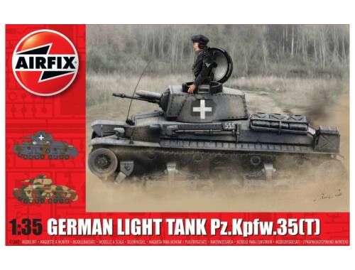 Airfix German Light Tank Pz.Kpfw.35 (t) 1:35 (A1362)