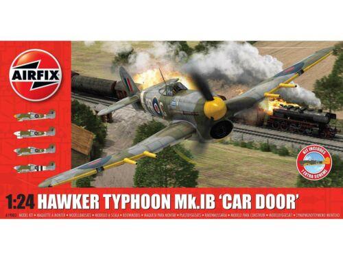 Airfix Hawker Typhoon 1B-Car Door (plus extra Luftwaffe scheme) 1:24 (A19003A)