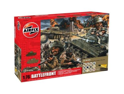 Airfix D-Day 75th Anniversary Battlefront Gift Set 1:76 (A50009A)