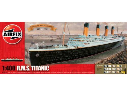 Airfix Gift Set - RMS Titanic 1:400 (A50146A)
