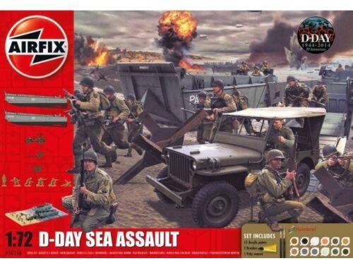 Airfix D-Day 75th Anniversary Sea Assault Gift Set 1:76 (A50156A)