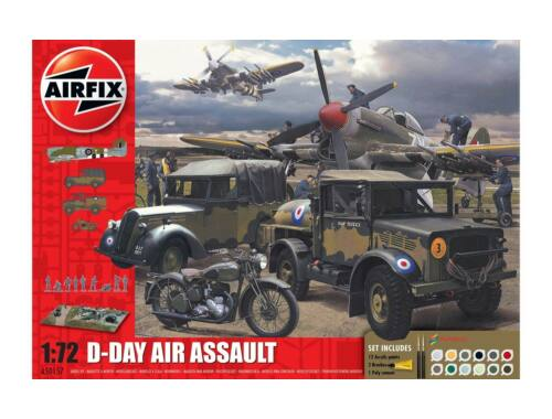 Airfix D-Day 75th Anniversary Air Assault Gift Set 1:72 (A50157A)