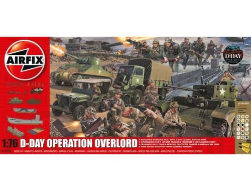 Airfix D-Day 75th Anniversary Operation Overlor Gift Set 1:76 (A50162A)