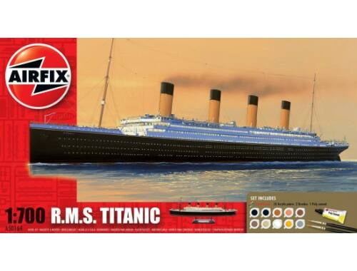 Airfix Gift Set - RMS Titanic 1:700 (A50164A)