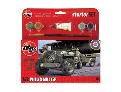 Airfix Starter Set Jeep MB 1:72 (A55117)