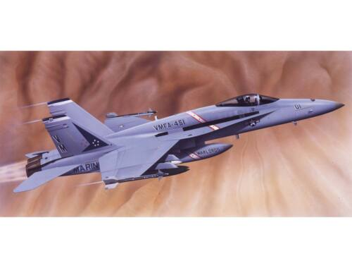 Airfix Large Starter Set-McDonnell Douglas F-18 Hornet 1:72 (A55313)
