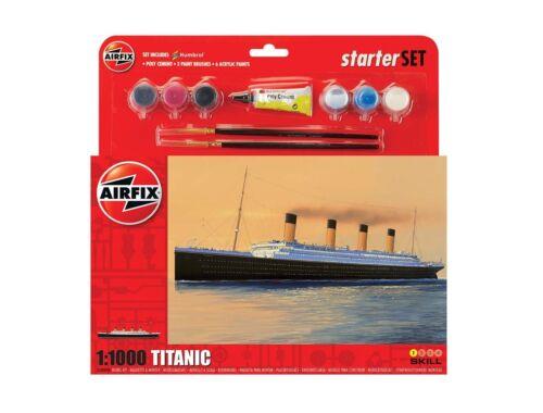 Airfix Starter Set-RMS Titanic 1:1000 (A55314)