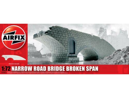 Airfix Narrow Road Bridge Broken Span 1:76 (A75012)