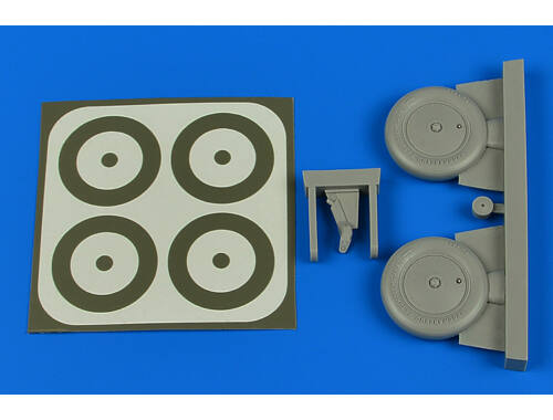 Aires I-153 Wheels   paint masks for ICM 1:32 (2225)