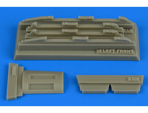 Aires Su17M3/M4 Fitter K fully empty chaff/ flare dispensers f. HobbyBoss 1:48 (4754)