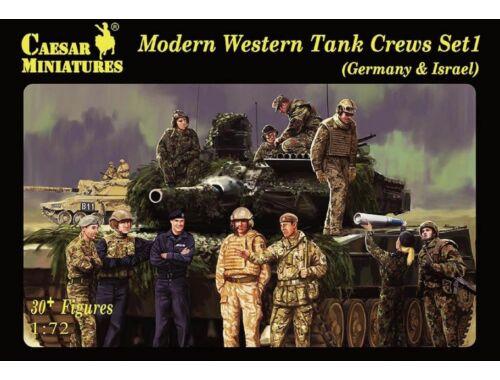Caesar Modern Western Tank Crews Set1 1:72 (H102)