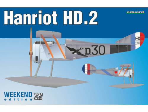 Eduard Hanriot HD.2 , Weekend Edition 1:48 (8413)