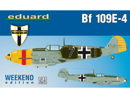 Eduard Bf 109E-4, Weekend Edition 1:48 (84153)