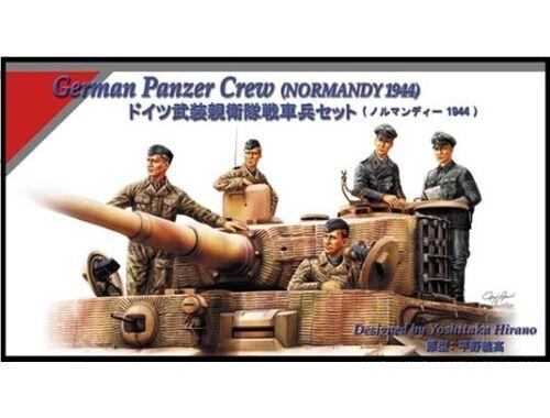 Hobby Boss German Panzer Tank Crew (Normandy 1944) 1:35 (84401)