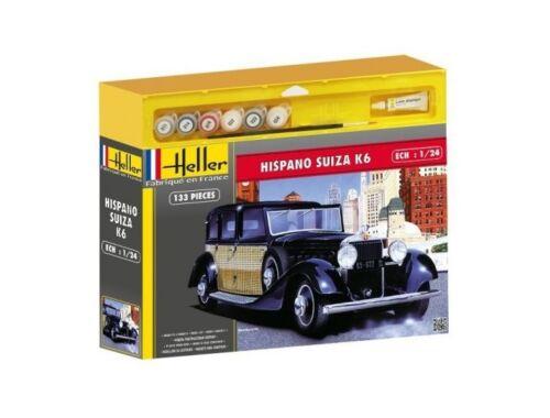 Heller Model Set Hispano Suiza K6 (m. accessories) 1:24 (56704)