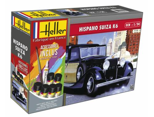 Heller Model Set Hispano Suiza K6 (m. accessories) 1:24 (56704)
